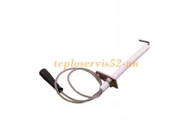 10025985 Электрод розжига и контроля горелки Beretta Сiao N, City, Mynute DGT, Exclusive (10021398)