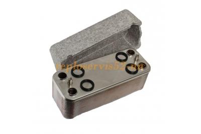R1957 Вторичный теплообменник (ГВС) Beretta Super Exclusive MIX 32 CSI  EV (Супер Эксклюзив)