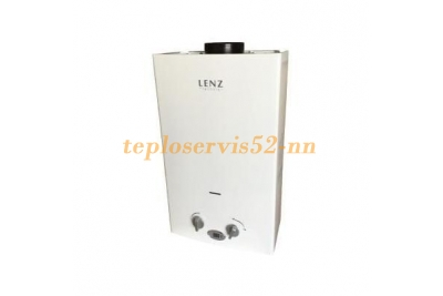 Газовая колонка LENZ TECHNIC 10L WHITE