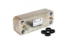 39820910 Вторичный теплообменник (ГВС) 20 пластин Ferroli Diva F37, DIVAtop MICRO (37405300)