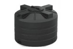 Бак для воды черный 570х742х742 200л